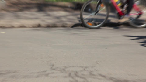 Bike ride Stock Video Footage