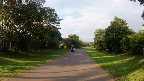 Golf Car 01 Stock Video Footage