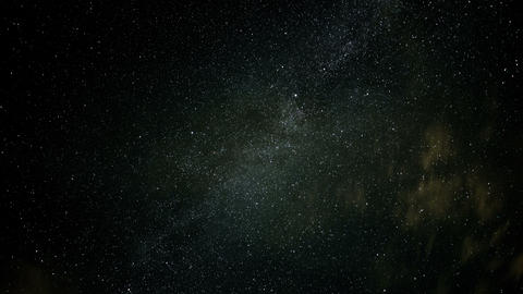 4k UHD stars and clouds time lapse 11023 Footage