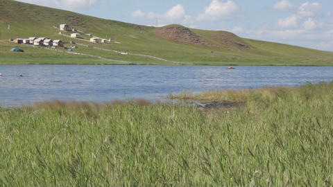 Khakassia Tus Lake 05 Footage