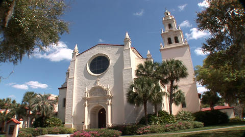 Knowles Memorial Chapel Stock Video Footage