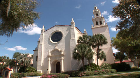 Knowles Memorial Chapel stock footage