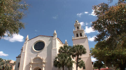 Knowles Church, Orlando Stock Video Footage