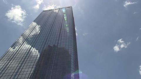 Skyscraper time lapse HD Stock Video Footage