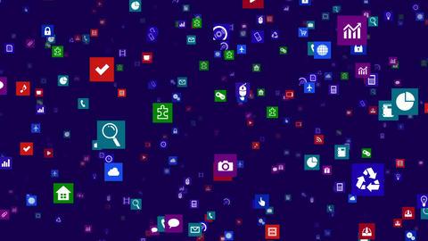 Smart Phone apps S Fm 3b 1 HD Stock Video Footage