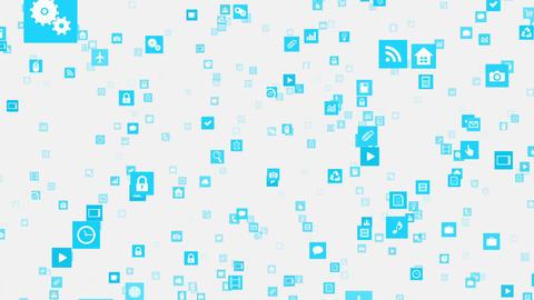 Smart Phone apps S Fm 3w 1 HD Stock Video Footage