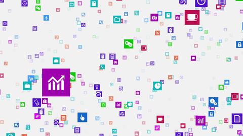 Smart Phone apps S Km 3w 1 HD Stock Video Footage