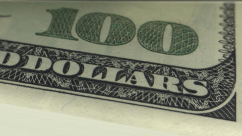 Dollars Counting in Looped animation. HD 1080 Stock Video Footage