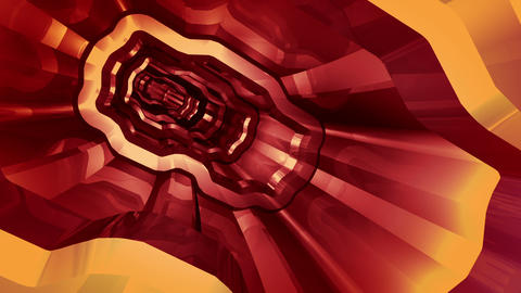 Tunnel tube SF A 01gg HD Animation
