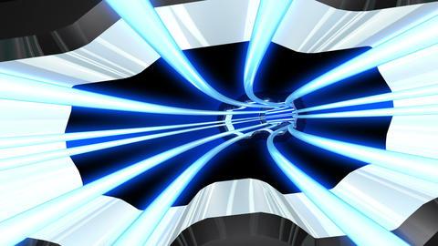 Tunnel tube SF A 01hh HD, CG動画素材