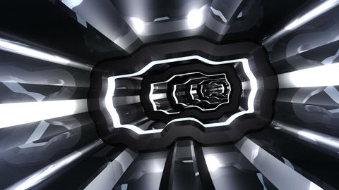 Tunnel tube SF A 01m HD Stock Video Footage
