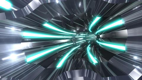 Tunnel tube SF A 01nn 2 HD Stock Video Footage