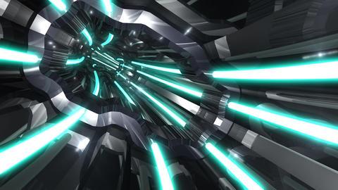 Tunnel tube SF A 01nn 2 HD Animation
