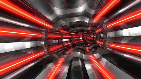 Tunnel tube SF A 01q HD Stock Video Footage