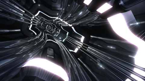 Tunnel tube SF A 01v 2 HD Animation