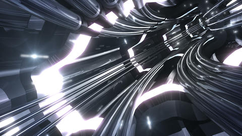 Tunnel tube SF A 01v 2 HD Stock Video Footage