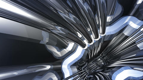 Tunnel tube SF A 02b HD Animation