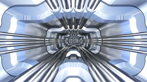 Tunnel tube SF A 02c HD Stock Video Footage