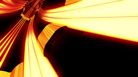 Tunnel tube SF A 02h HD Stock Video Footage
