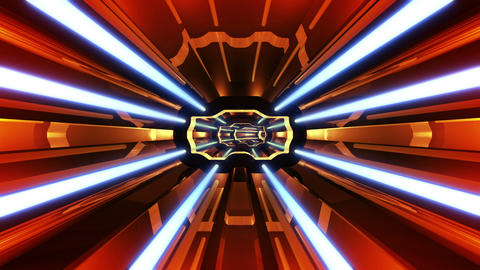 Tunnel tube SF A 02p HD Stock Video Footage