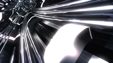 Tunnel tube SF A 02v 2 HD Stock Video Footage