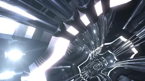 Tunnel tube SF A 02v 2 HD Animation