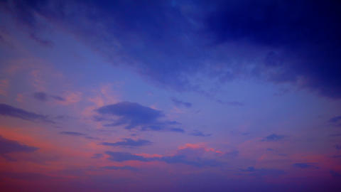 sky in sunset time lapse Stock Video Footage