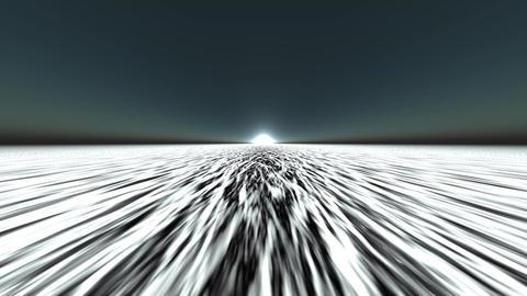 sun & dalling white light reflecting on ocean like... Stock Video Footage