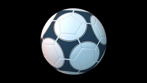 サッカーボール stock footage