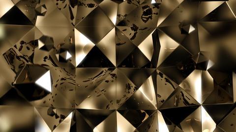 Golden spheres luxury background HD 1080 Loop Stock Video Footage
