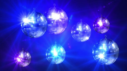 Mirror ball 8214 Stock Video Footage