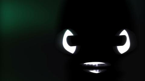Humanoid with alien head 13 Stock Video Footage
