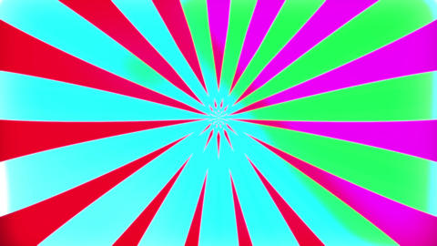 Hallucinatory rays Animation