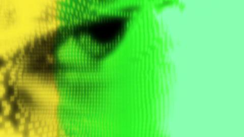 Woman eye Animation