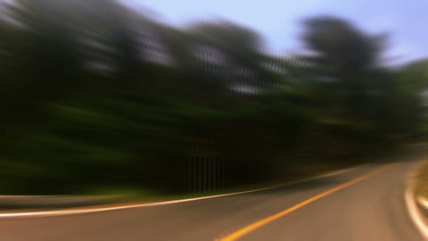 Countryside car trip 09 Stock Video Footage