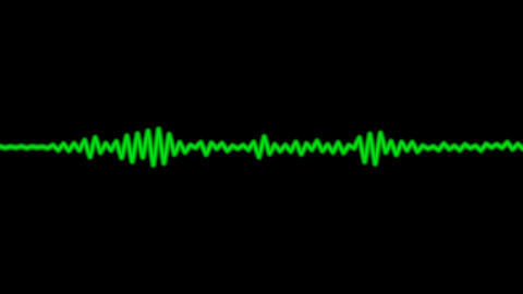 audio wave with alpha Animation