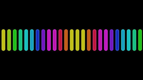 audio colors with alpha Animation