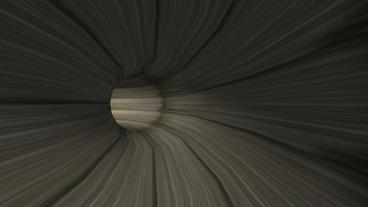 moving in tunnel,wood pipeline,virtual game scenes Stock Video Footage