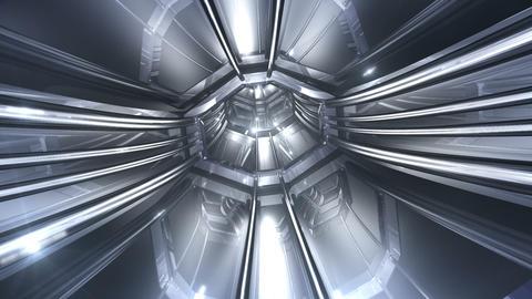 Tunnel tube SF B 01a 2 HD Stock Video Footage