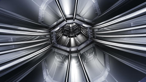 Tunnel tube SF B 01a HD Stock Video Footage