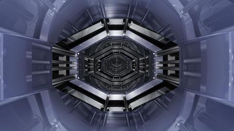 Tunnel tube SF B 01b HD Stock Video Footage
