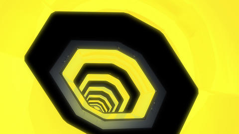 Tunnel tube SF B 01gg HD Animation
