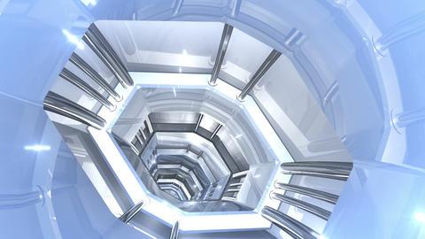 Tunnel tube SF B 01jj 2 HD Stock Video Footage