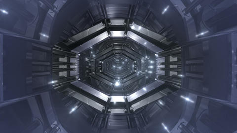 Tunnel tube SF B 02aa 2 HD Stock Video Footage
