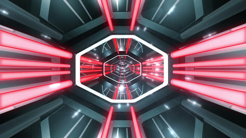 Tunnel tube SF B 02f 2 HD Stock Video Footage