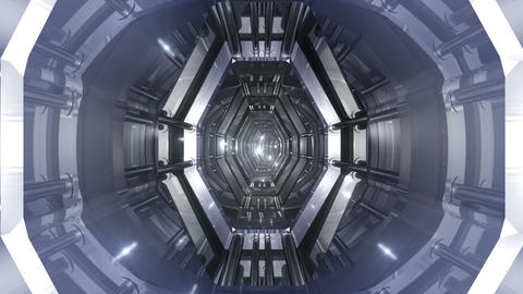 Tunnel tube SF B 03aa 2 HD Stock Video Footage