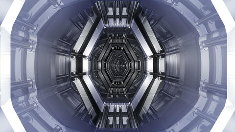 Tunnel tube SF B 03aa HD Stock Video Footage