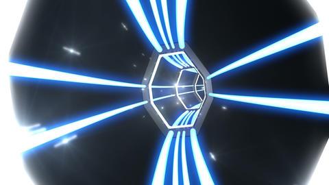 Tunnel tube SF B 03c 2 HD Stock Video Footage