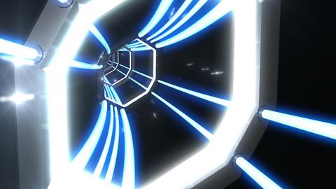 Tunnel tube SF B 03c 2 HD Animation