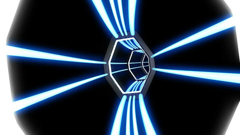 Tunnel tube SF B 03c HD Stock Video Footage